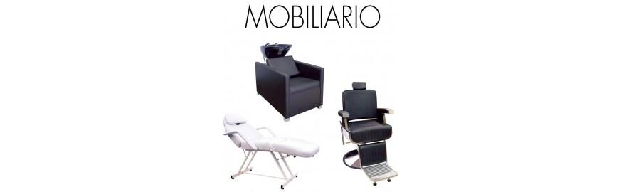 Mobiliario para peluquería y salón de estética