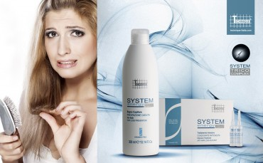 Para la caida del cabello elige Systen Energy by Technique